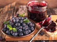 Рецепта Сладко от боровинки в бурканчета за зимата